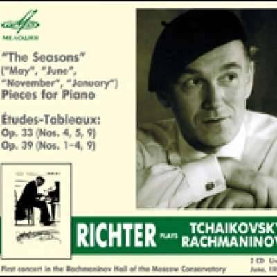 Sviatoslav Richter. Tchaikovsky; Rachmaninov