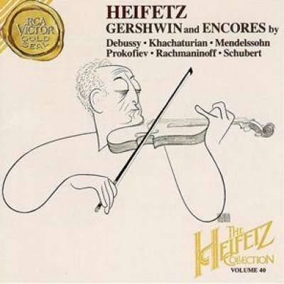 Heifetz Gershwin And Encores