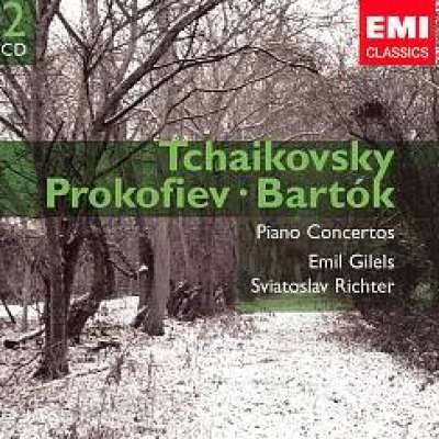 TCHAIKOVSKY, PROKOFIEV, BARTÓK: PIANO CONCERTO