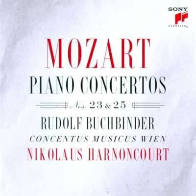 Mozart Piano Concertos Nos. 23 and 25 Rudolf Buchbinder, Concentus Musicus Wien / Nikolaus Harnoncourt