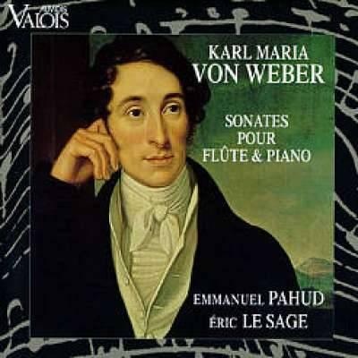 Carl Maria Von Weber - Sonates Pour Flute Et Piano