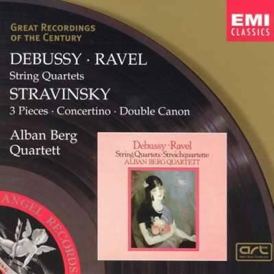 Debussy, Ravel, Stravinsky: String Quartets
