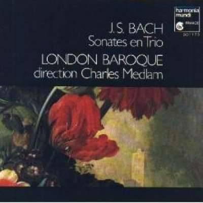 Bach: Sonates En Trio - London Baroque Charles Medlam