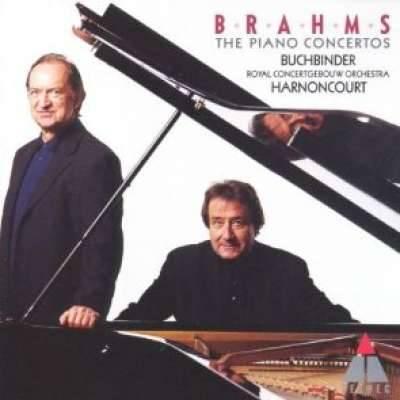 Brahms: Piano Concertos Nos. 1 and 2, Buchbinder, Harnoncourt