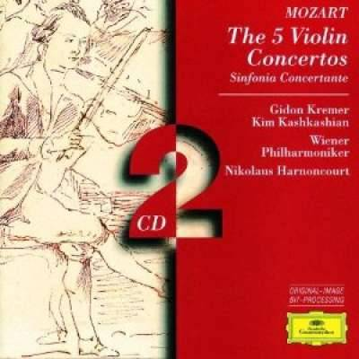 Mozart: The 5 Violin Concertos - Kremer