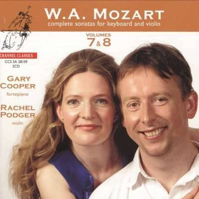 W.A. Mozart: Complete Sonatas for Keyboard and Violin