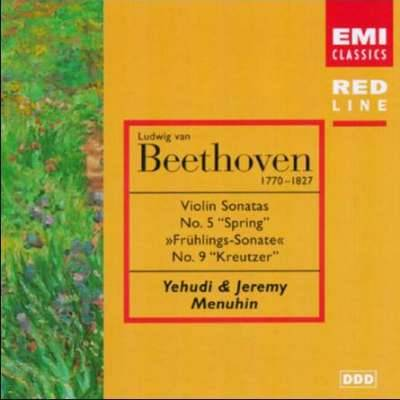 Beethoven: Violin Sonatas no 5 and 9