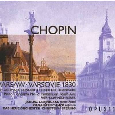 Chopin Piano Concerto No 2 Janusz Olejniczak