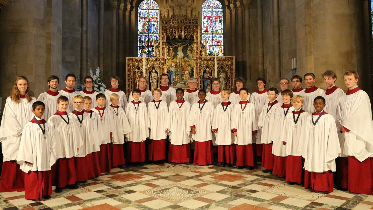 The Choir Of Christ Church Cathedral