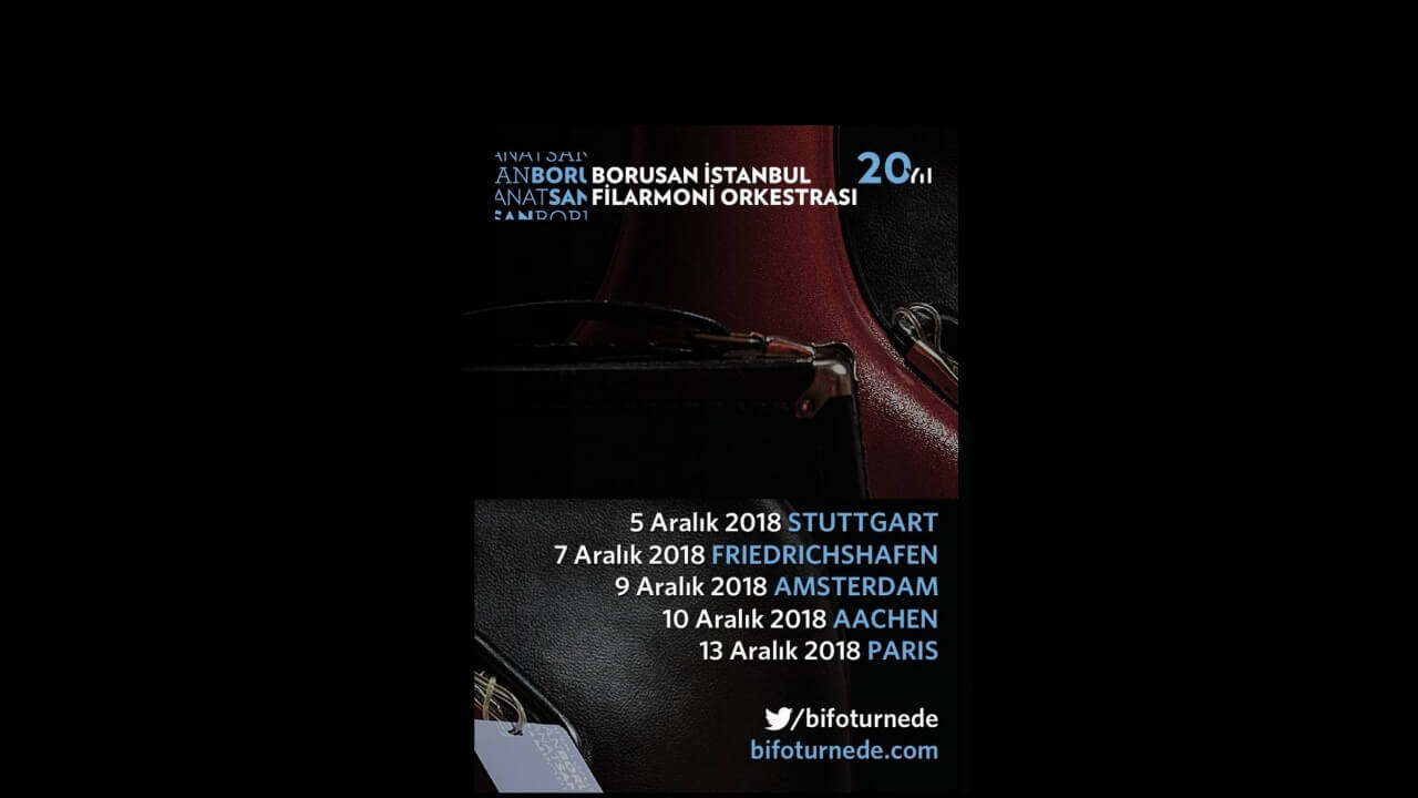 Borusan İstanbul Filarmoni Orkestrası - BİFO Turne 2016