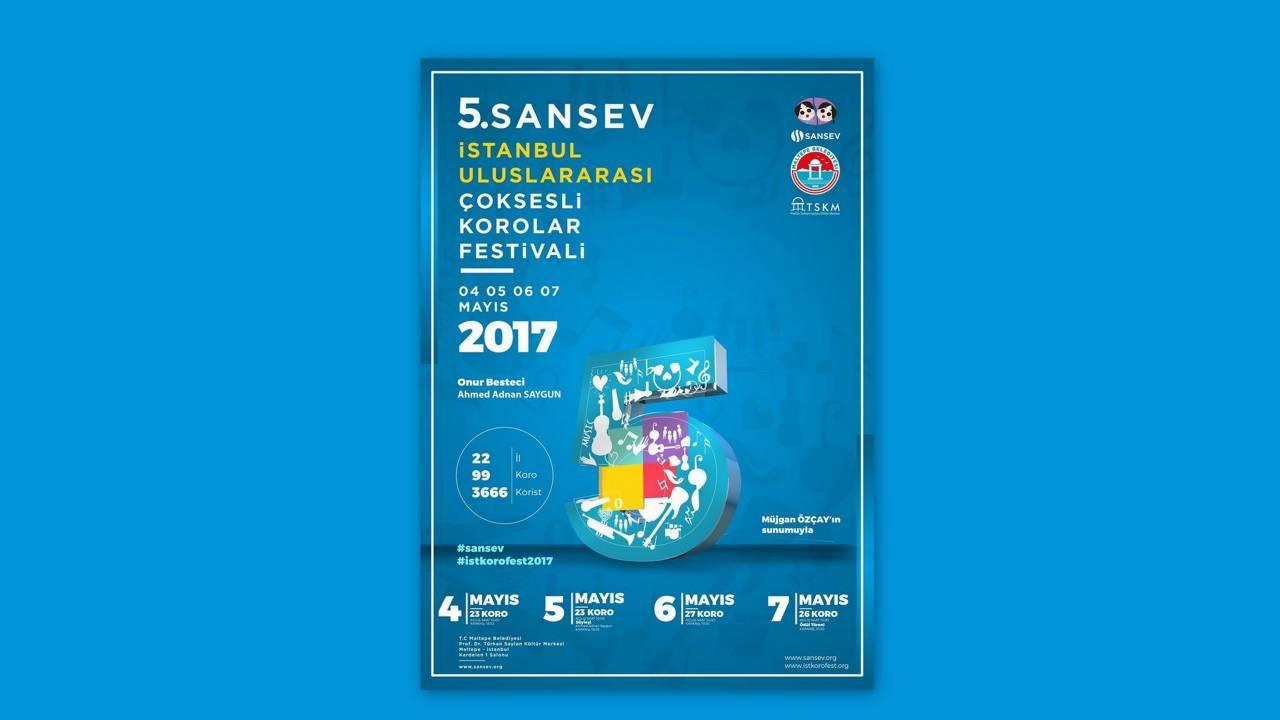 5. Sansev İstanbul Uluslararası Korolar Festivali - 2017