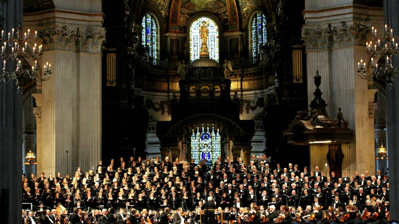 St Paul's Cathedral Choir City of London Sinfonia