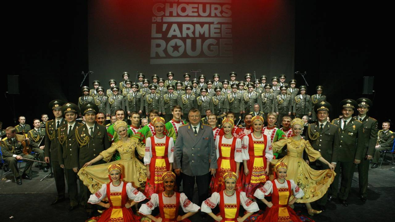 Red Army Band And Red Army Choir