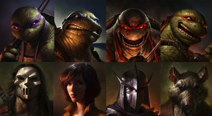 Işte Yeni Ninja Kaplumbağalar Karnavalcom