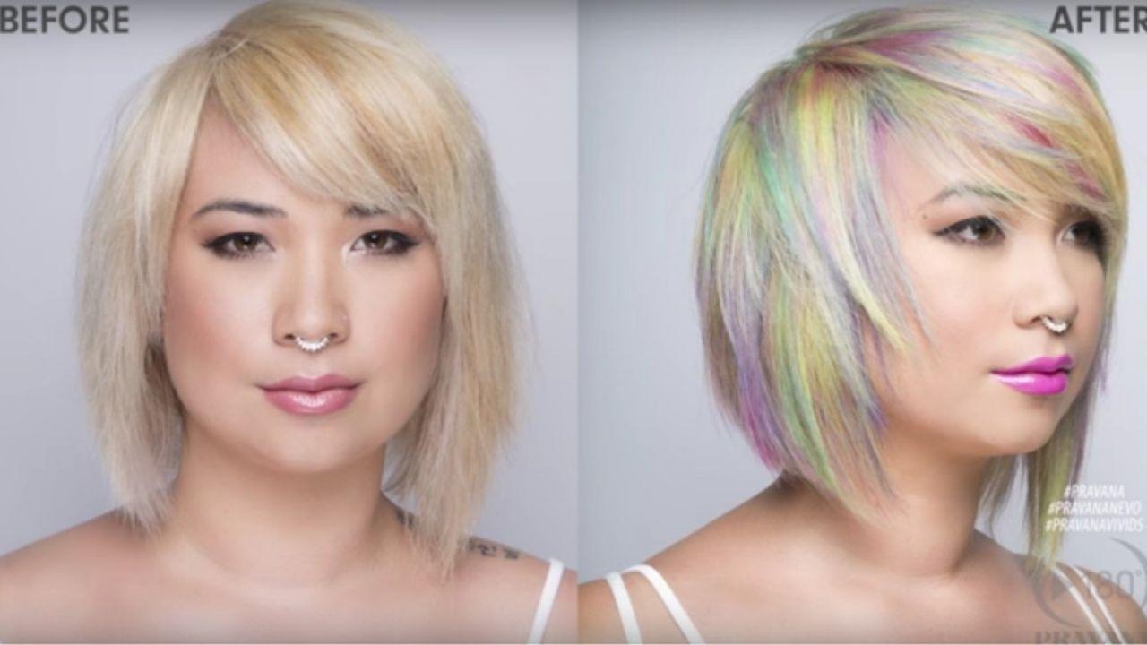 Suluboya Saç Modası Göz Kamaştırıyor Karnavalcom