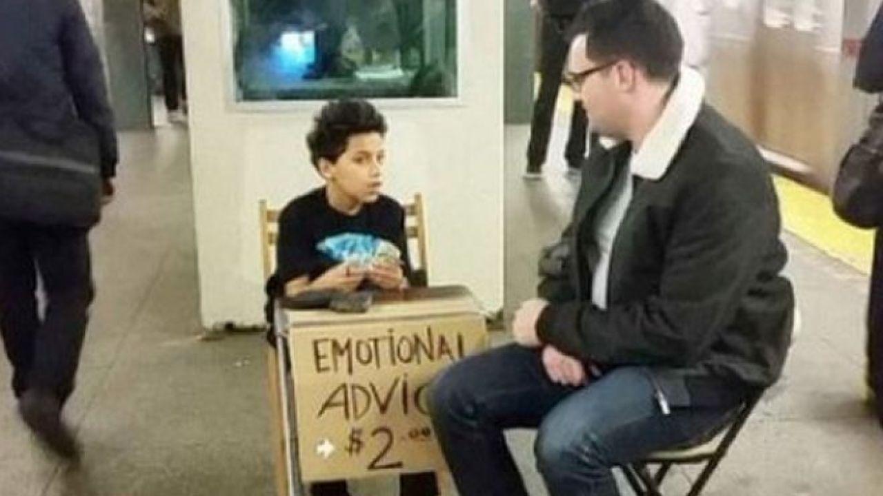 11 Yaşında psikolojik destek veriyor