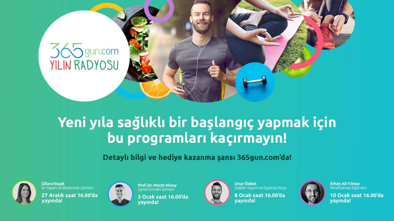 365GUN.COM'UN UZMAN EKİBİ YILIN RADYOSU'NDA!