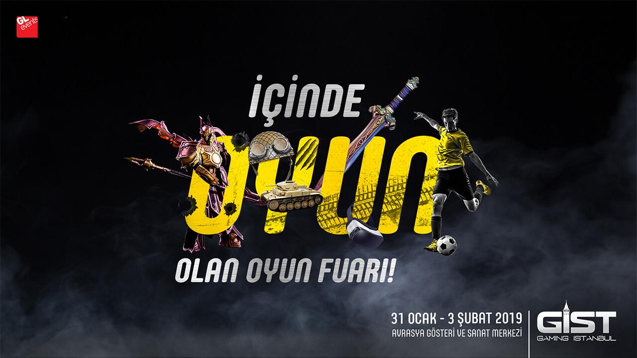 SİNEMA, TV VE MÜZİĞİ GERİDE BIRAKAN OYUNLAR BU HAFTA GAMİNG İSTANBUL'DA!