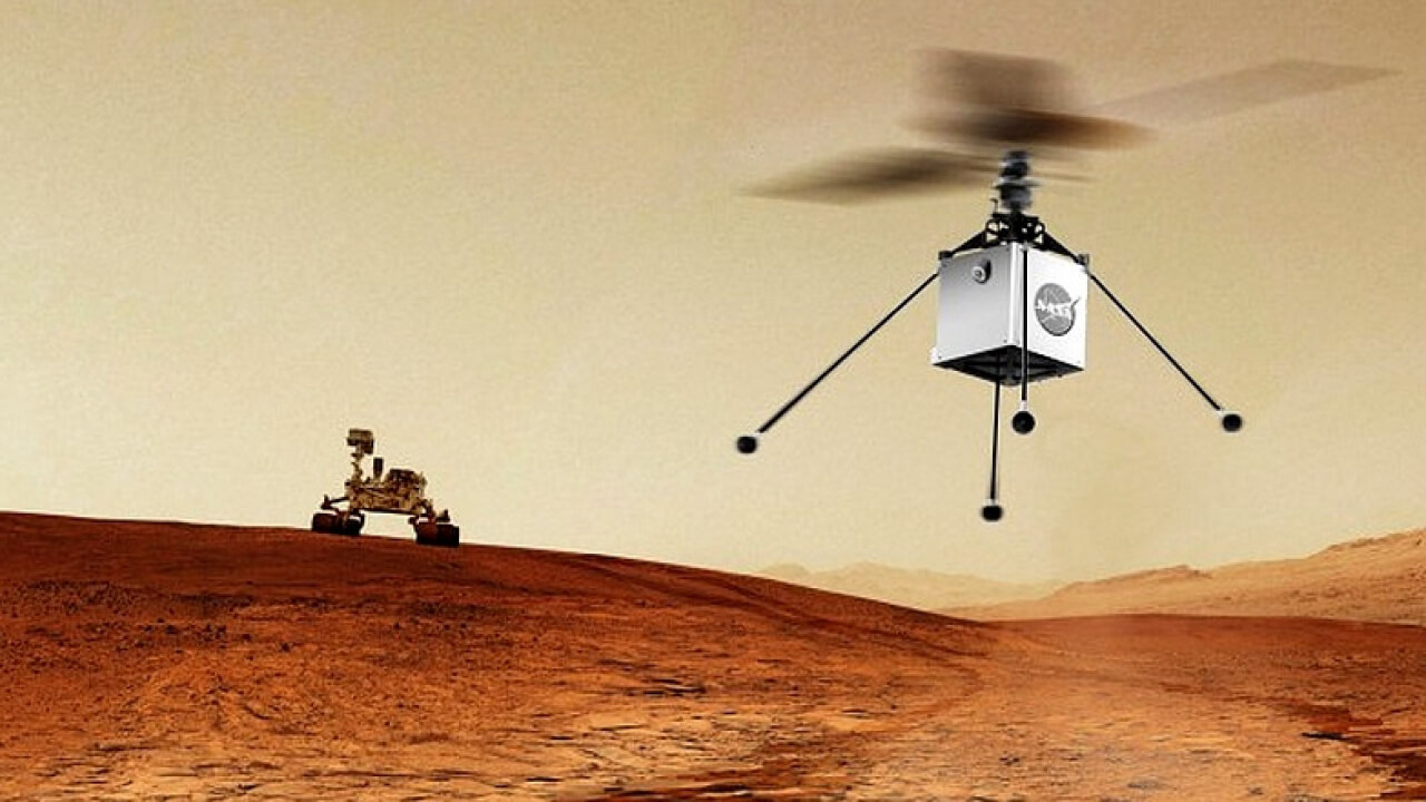 NASA 2020 YILINDA MARS'A HELİKOPTER GÖNDERECEK!