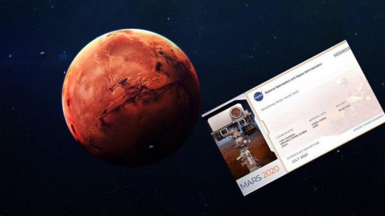MARS'A İSİM GÖNDERME KAMPANYASI 2 MİLYON BAŞVURUYU AŞTI