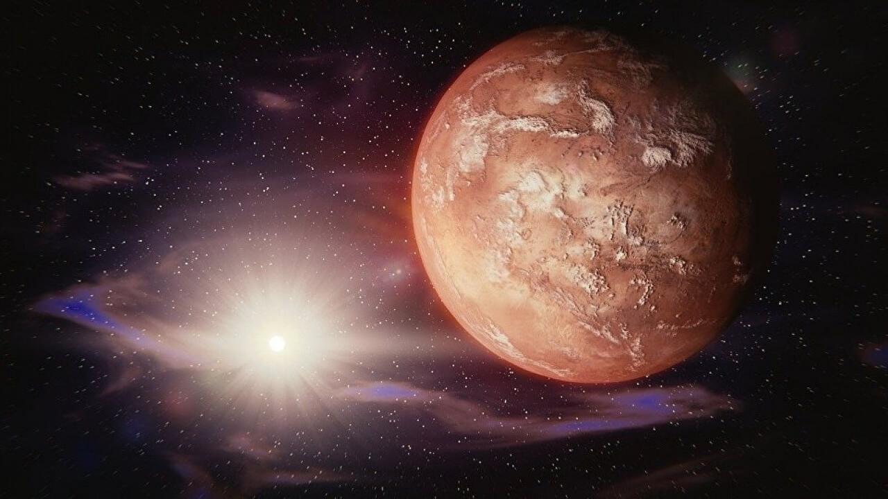 MARS'TA GÜÇLÜ BİR PATLAMANIN İZİNE RASTLANDI