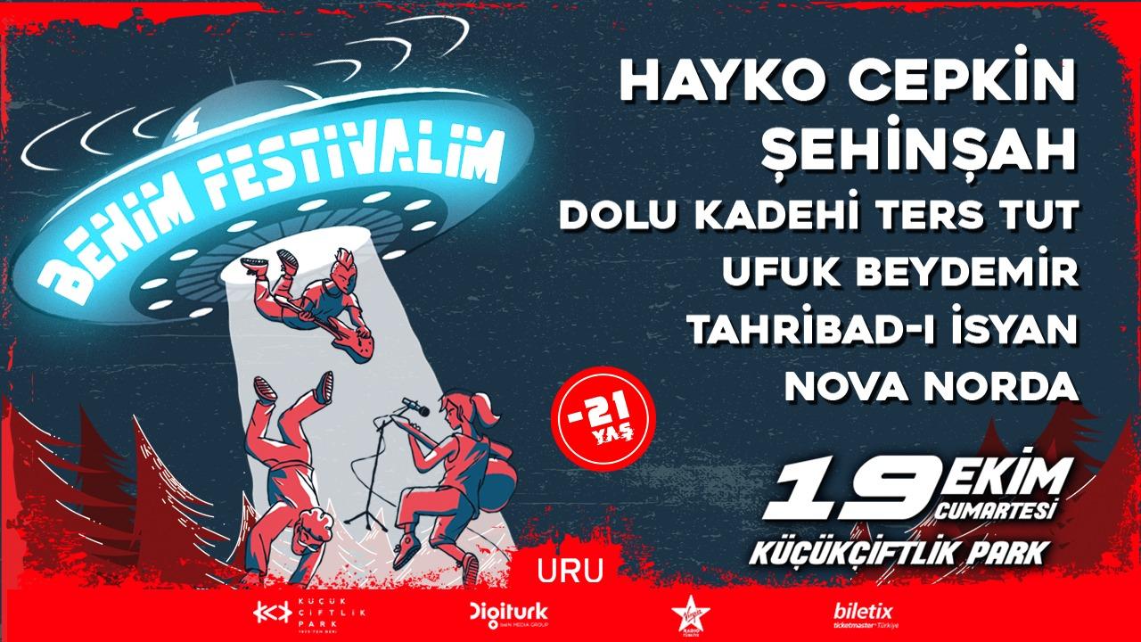 BENİM FESTİVALİM'E SADECE GENÇLER KATILABİLİR!