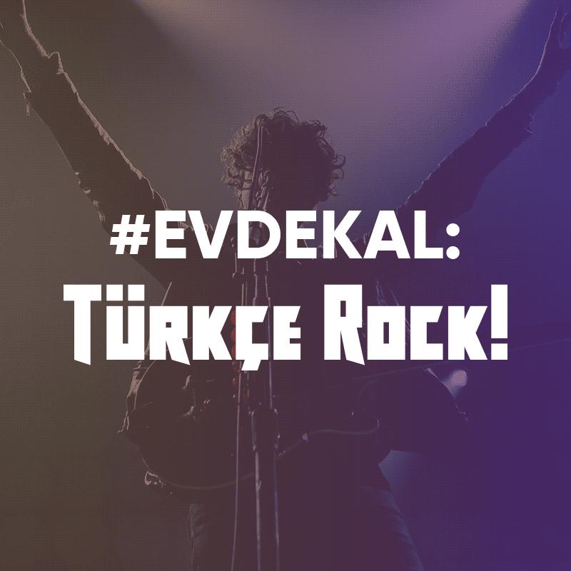 #evdekal - Türkçe Rock